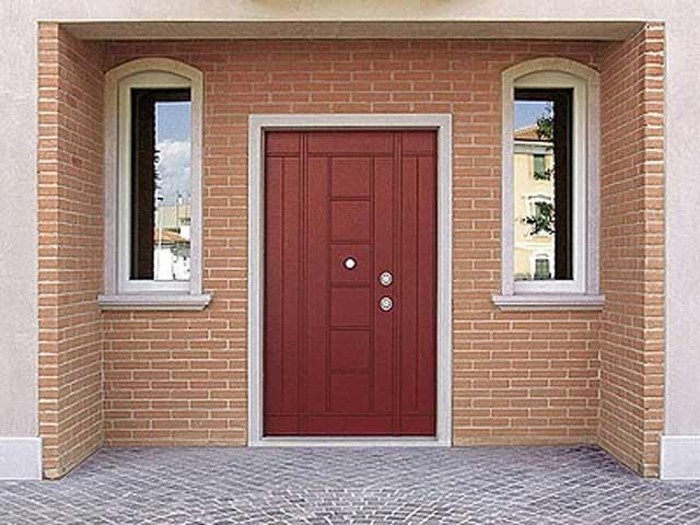 Входная дверь в частном доме своими руками